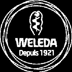 WELEDA. blanc